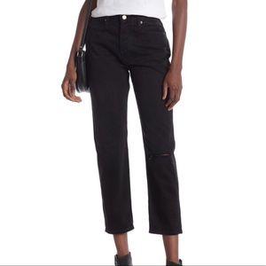 FRAME Denim Le Pegged Boyfriend Button-Fly Jeans